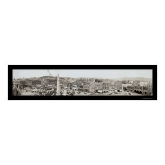 Foto 1910 del cuadrado del paquete de Asheville Impresiones