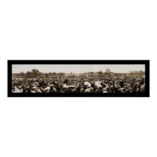 Foto 1910 del discurso de los Pythias de los cabal Posters