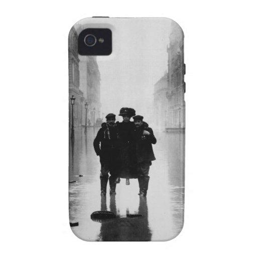 Foto 1910 del vintage de París Carcasa Case-Mate Para iPhone 4