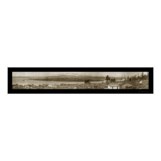 Foto 1911 de Bremerton Washington Póster