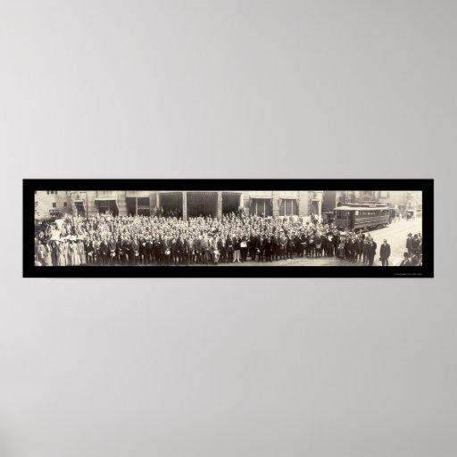 Foto 1911 de Rochester NY de las actividades banca Impresiones