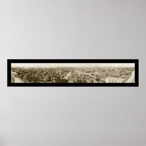 Foto 1911 de Spokane WA del horizonte Posters