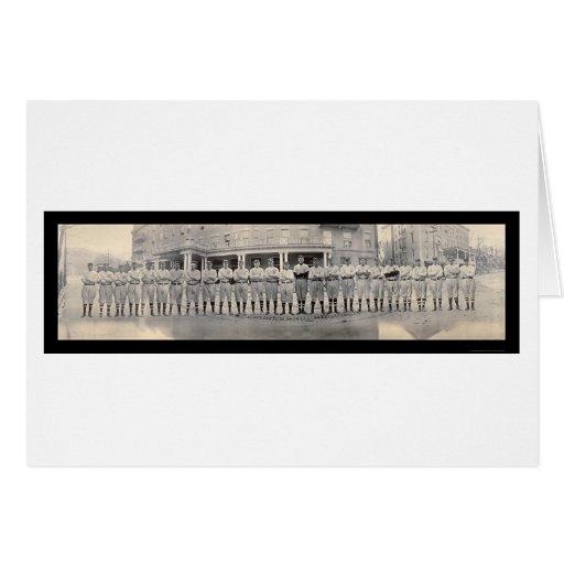 Foto 1911 del béisbol NY de Brooklyn Tarjeta De Felicitación