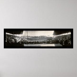Foto 1911 del parque de Washington del béisbol Póster