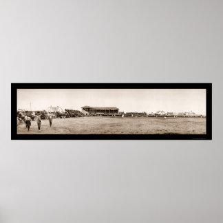 Foto 1912 del béisbol de la aurora de Wausau Impresiones