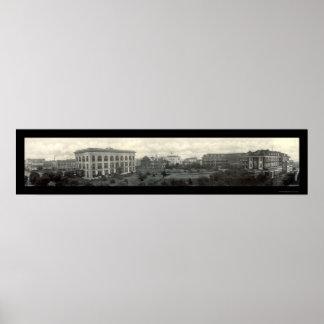 Foto 1912 del hotel del ms de Gulfport Poster