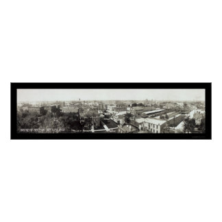 Foto 1912 del negocio de Bay City MI Poster