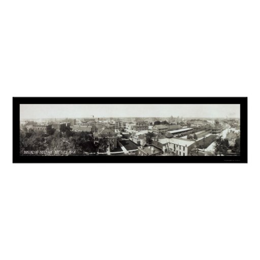 Foto 1912 del negocio de Bay City MI Póster
