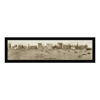 Foto 1913 de Chicago, costa de IL Posters