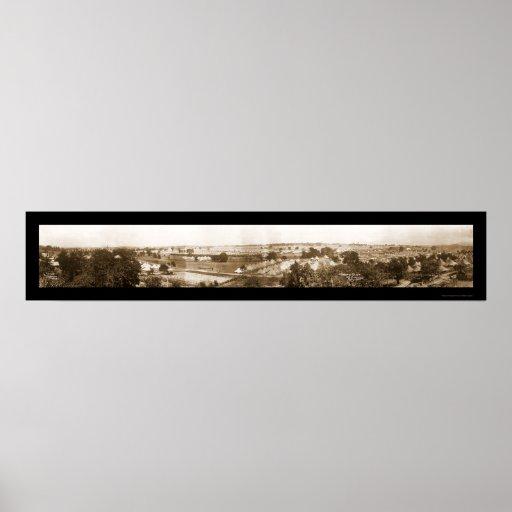 Foto 1913 de Gettysburg 50.o Poster