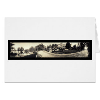 Foto 1913 de Hopatcong Breslin del lago Tarjeta De Felicitación