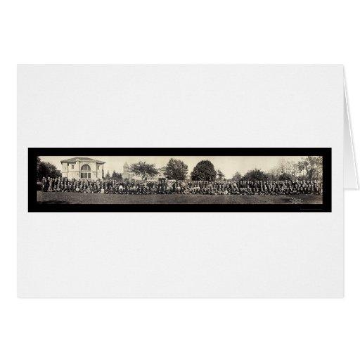Foto 1913 de la clase de Purdue Soph Tarjeta De Felicitación