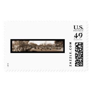 Foto 1913 del carretera de la corona timbre postal