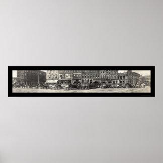 Foto 1913 del departamento del fuego del OH del ca Posters