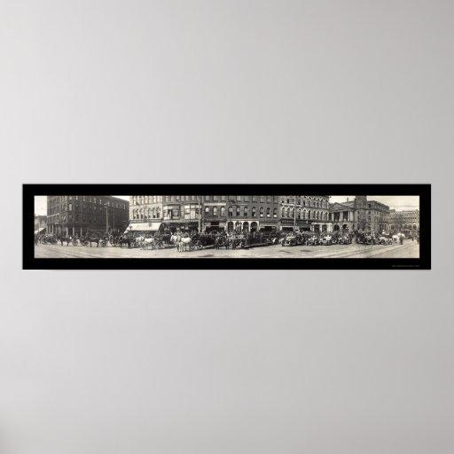 Foto 1913 del departamento del fuego del OH del ca Póster