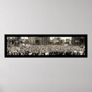 Foto 1914 de Chicago de la escuela dominical Posters