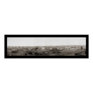 Foto 1914 de Dickinson Dakota del Norte Póster