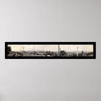 Foto 1914 de la construcción de Astoria Impresiones