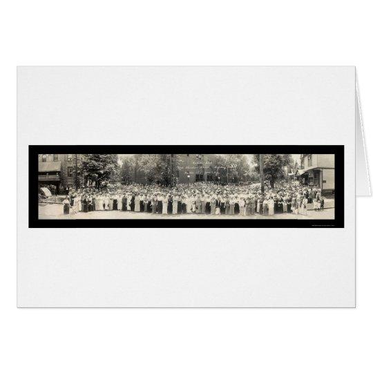 Foto 1914 de la escuela dominical del OH del Tarjeta De Felicitación
