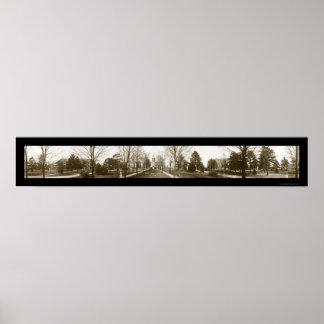 Foto 1914 de la universidad de Notre Dame Póster
