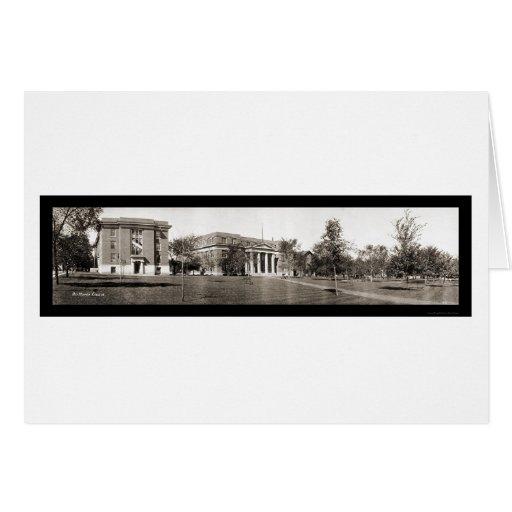 Foto 1914 de la universidad IA de Drake Tarjetón