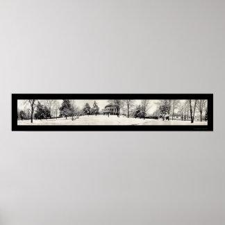 Foto 1914 del invierno de Charlottesville Póster