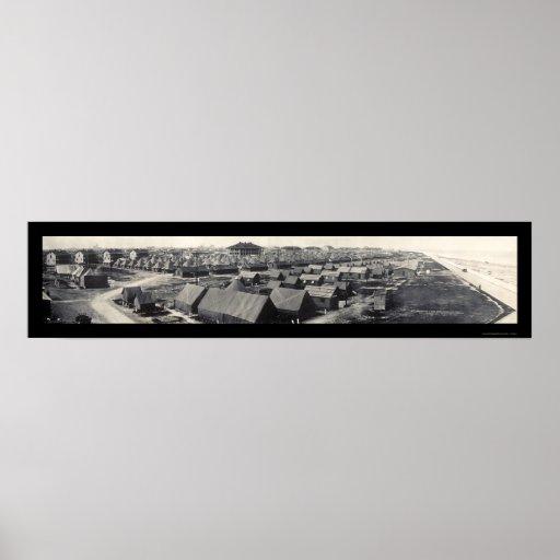 Foto 1915 de Crockett Tejas del fuerte Posters