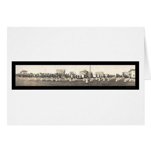 Foto 1915 de la academia NJ de Wenonah Tarjetón