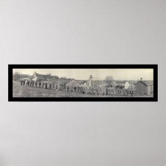 Foto 1915 de la galena de la mina de la veintiuna posters