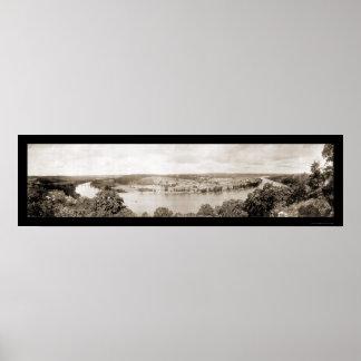 Foto 1915 del lago Titicaca Impresiones