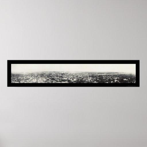 Foto 1915 del manganeso de Birdseye San Pablo Póster