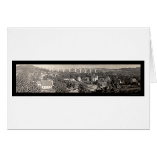 Foto 1915 del PA del viaducto de Nicholson Tarjeta De Felicitación