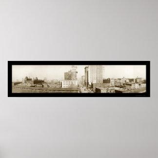 Foto 1916 de Birmingham Alabama Póster