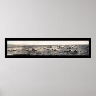 Foto 1916 de Naco Arizona WWI del campo Impresiones