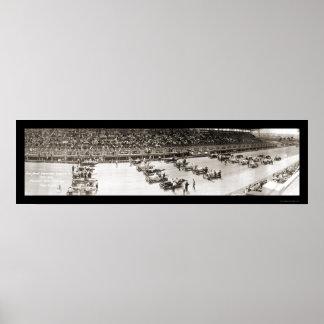 Foto 1916 del carretera de Cincinnati Póster