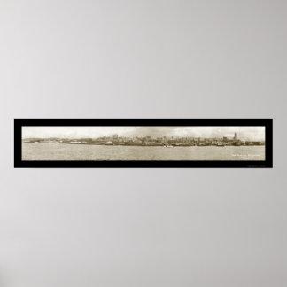 Foto 1917 de la costa de Seattle WA Impresiones
