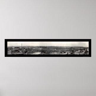 Foto 1917 del manganeso de San Pablo de los corral Póster