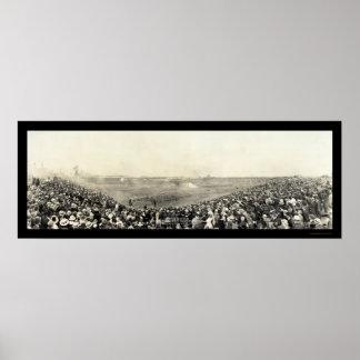 Foto 1918 de Chicago de la batalla del Exp de la g Póster