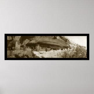 Foto 1918 de Colorado del palacio del acantilado Póster