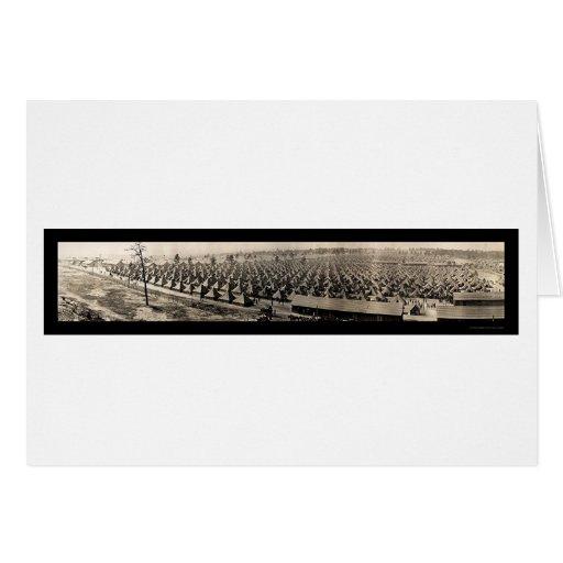 Foto 1918 de Hancock del ejército de Augusta Tarjeta
