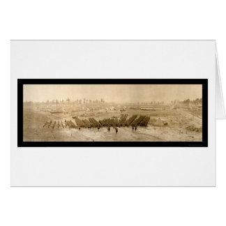 Foto 1918 de Sevier del campo de la formación Tarjeta De Felicitación