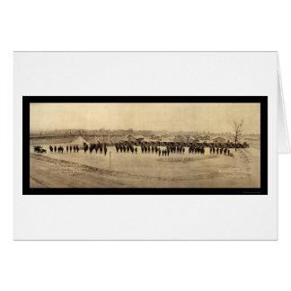 Foto 1918 de Sevier del tren de la fuente Tarjeta De Felicitación