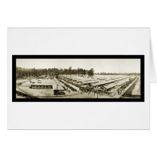 Foto 1918 del AL de Sheridan del campo del ejércit Felicitación