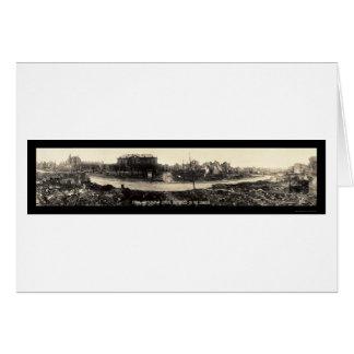 Foto 1918 del daño de Etain Francia Tarjeta De Felicitación