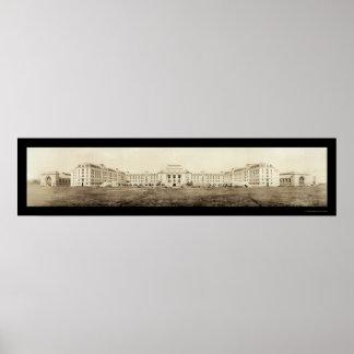Foto 1919 de la academia de la marina de guerra de impresiones