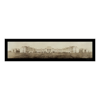 Foto 1919 de la academia de la marina de guerra de póster