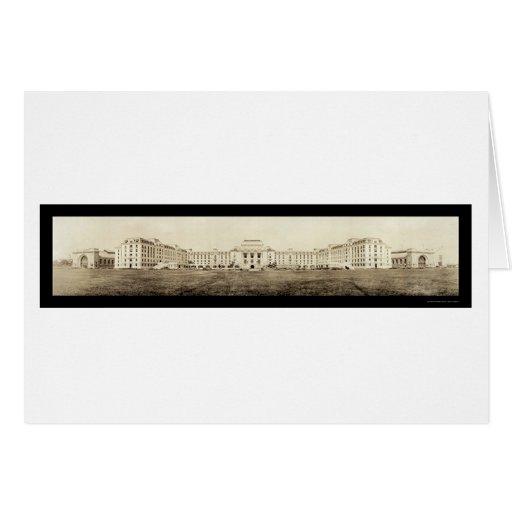 Foto 1919 de la academia de la marina de guerra de tarjeta de felicitación