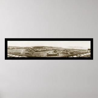 Foto 1919 del San Francisco Bay Presidio Impresiones