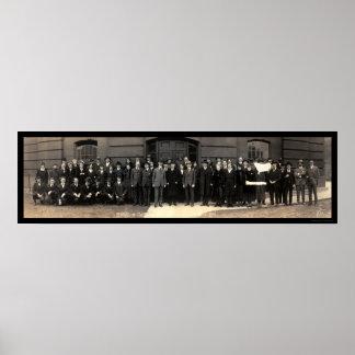 Foto 1919 del Washington DC de la oficina de las i Póster