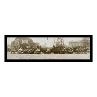 Foto 1921 del departamento Niágara del fuego Poster